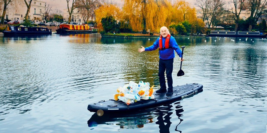 Bill Bailey gets active to fight plastic